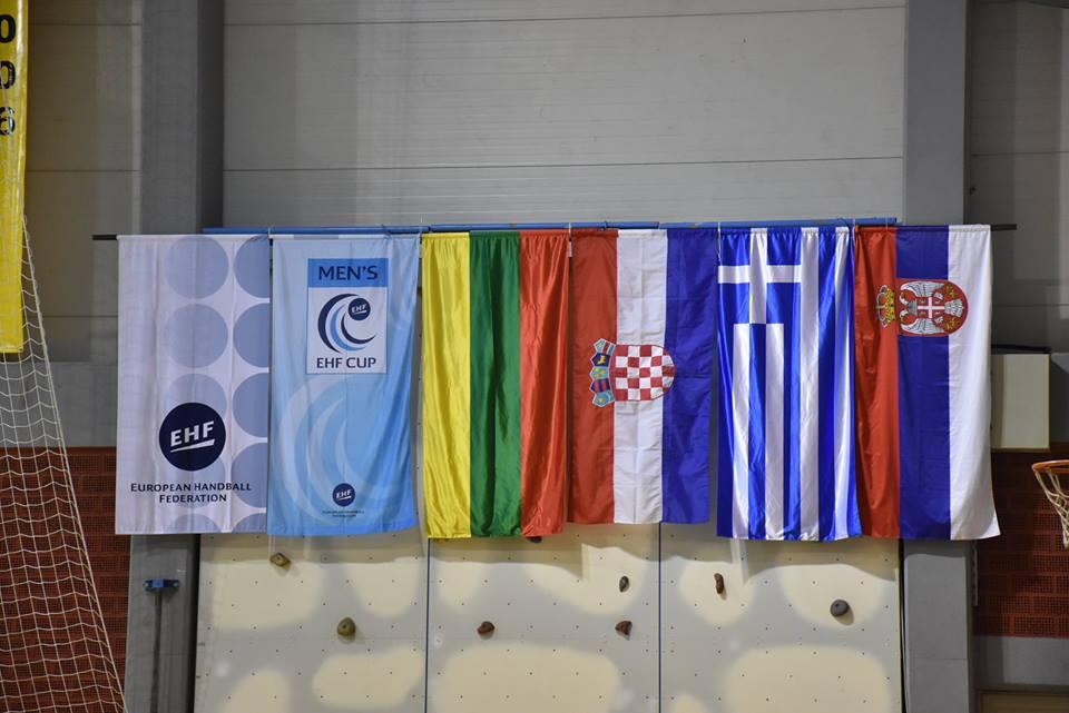 EHF Cup : DUBRAVA IZBORILA 2.PRETKOLO EHF Cup-a