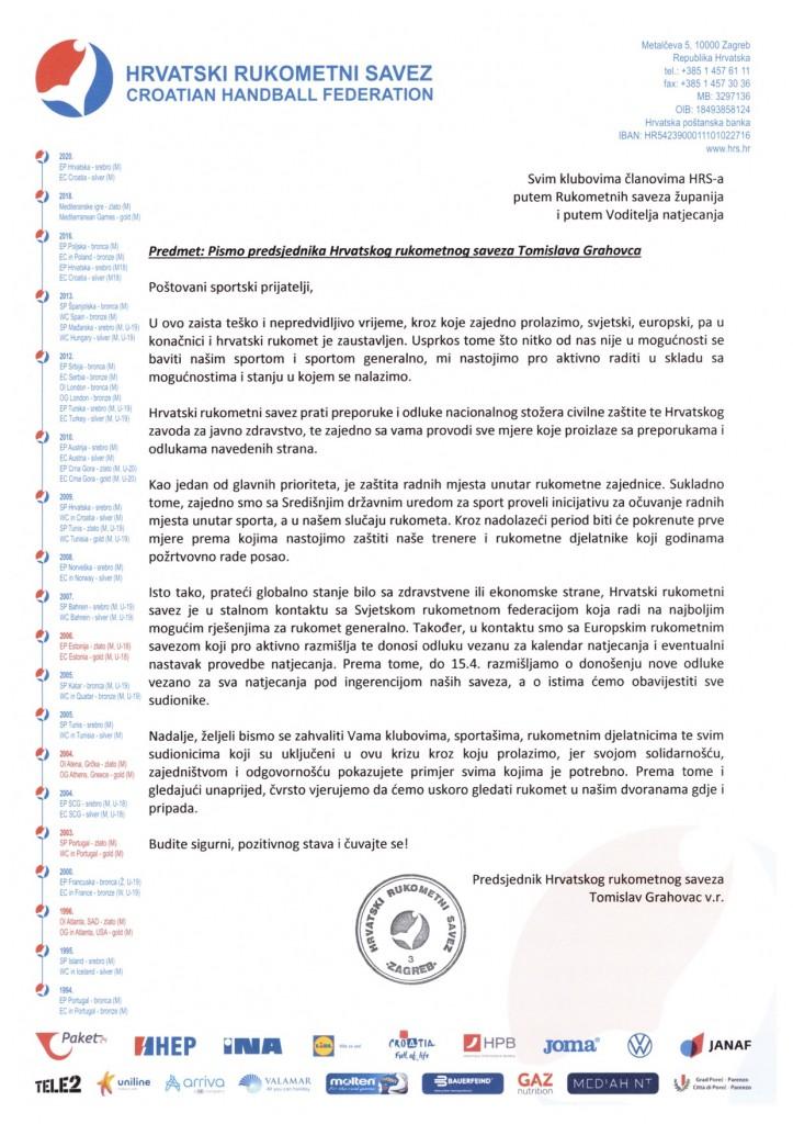 Pismo-predsjednika-Hrvatskog-rukometnog-saveza-Tomislava-Grahovc