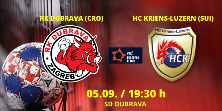 "EHF European League Q1 : DUBRAVA U ""LOVU"" ZA PROLAZ"