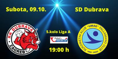 Najava utakmice 09.10. DUBRAVA – UMAG